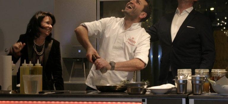Güngörmüs und LG SIGNATURE: Ein Cook Event mit Genuß