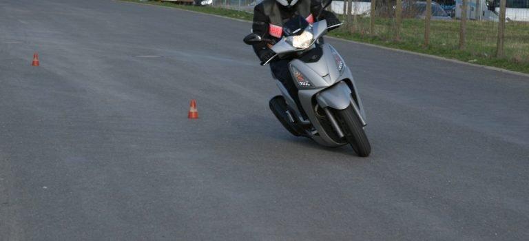 Motorrad fahren mit B196 Erweiterung