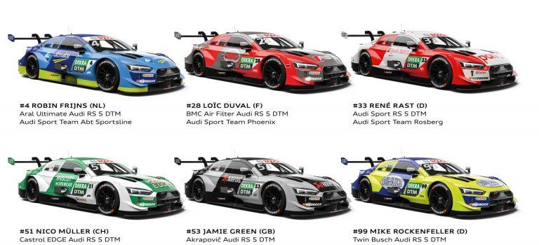 """Der Audi RS 5 DTM scheint """"wie gebaut"""" für Spa"""