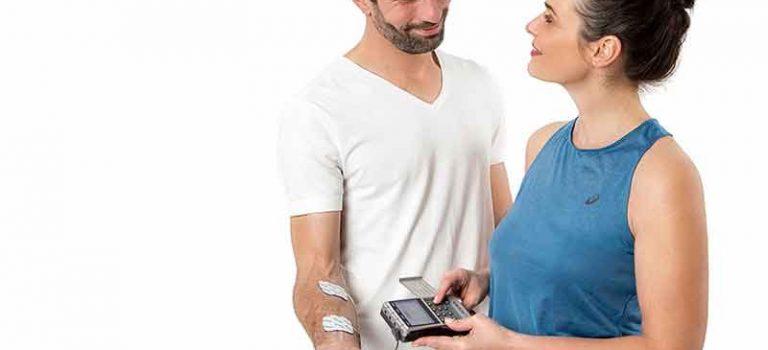 Schmerzlinderung mit einem TENS Gerät