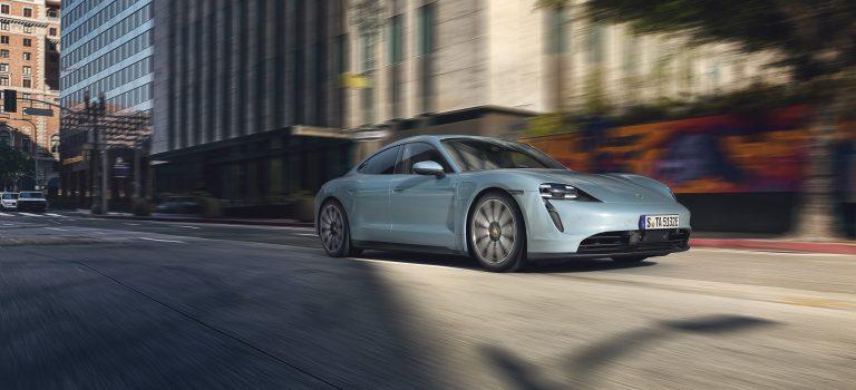 Vollelektrischer Porsche Taycan per Abo